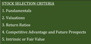 All About Stock Selection Criteria